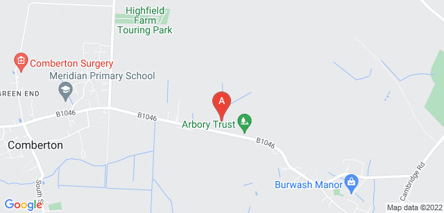 Google static map for The Arbory Trust Woodland Burial Ground