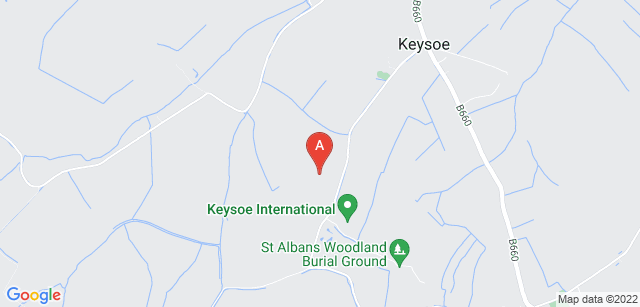 Google static map for St Albans Woodland Burial Ground