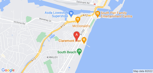 Google static map for St Elizabeth Hospice Day Service (Lowestoft)