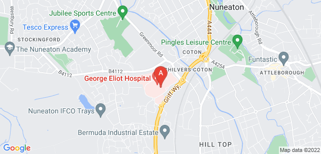 Google static map for Mary Ann Evans Hospice
