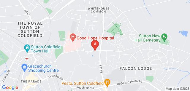 Google static map for Sutton Coldfield Crematorium