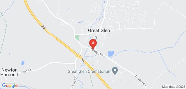 Google static map for Great Glen Crematorium