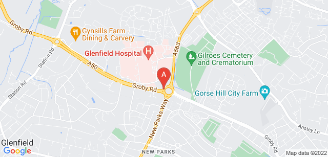 Google static map for LOROS Leicestershire & Rutland Hospice