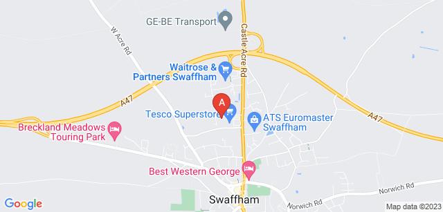 Google static map for Swaffham & Litcham Home Hospice
