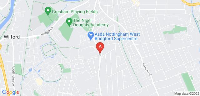 Google static map for Wilford Hill Crematorium
