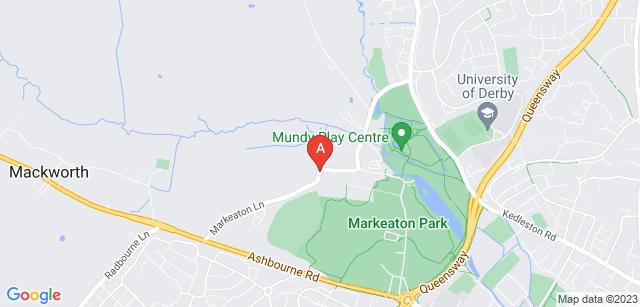 Google static map for Markeaton Crematorium
