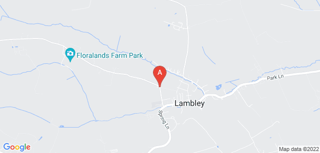 Google static map for Gedling Crematorium