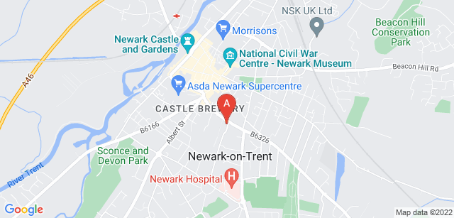 Google static map for Beaumond House Community Hospice