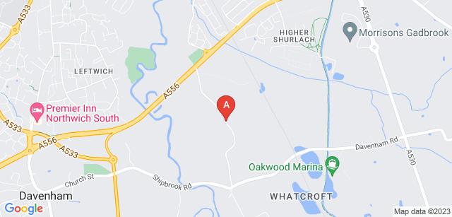 Google static map for Vale Royal Crematorium