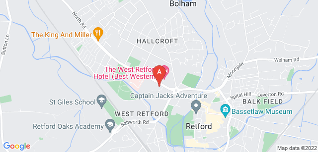 Google static map for Bassetlaw Hospice of the Good Shepherd
