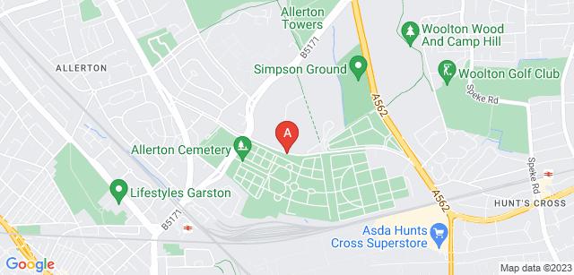 Google static map for Springwood Crematorium