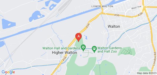 Google static map for Walton Lea Crematorium