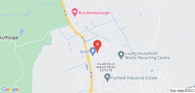 Google static map for Louth & District Hospice
