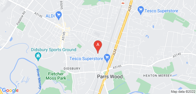 Google static map for Francis House Children's Hospice