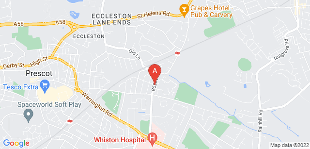 Google static map for Willowbrook Hospice
