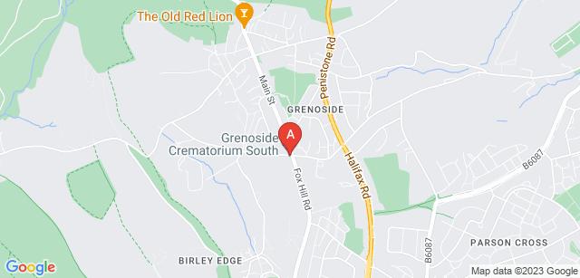 Google static map for Grenoside Crematorium
