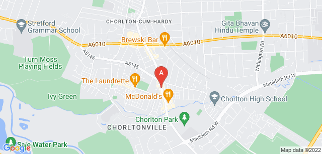 Google static map for The Manchester Crematorium Ltd