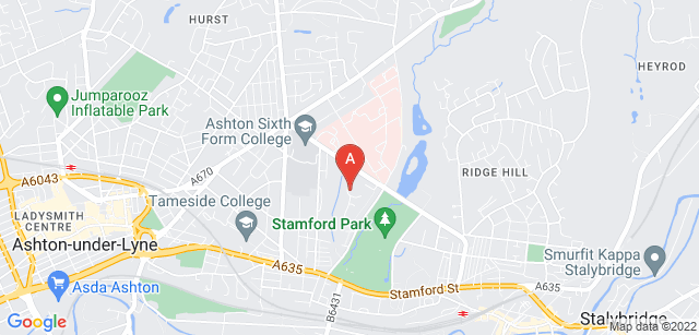Google static map for Willow Wood Hospice