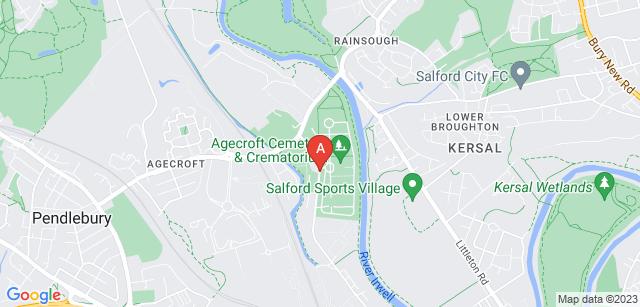 Google static map for Agecroft Crematorium