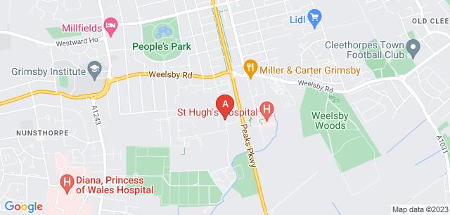Google static map for Great Grimsby Crematorium