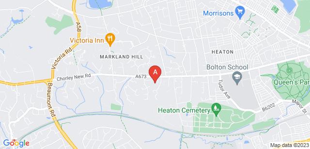 Google static map for Overdale Crematorium