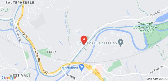 Google static map for Parkwood Crematorium
