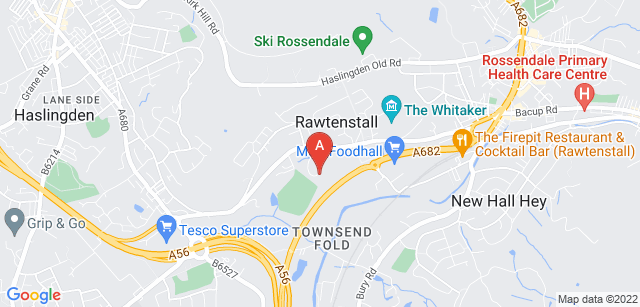 Google static map for Rossendale Hospice
