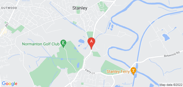 Google static map for Wakefield Hospice