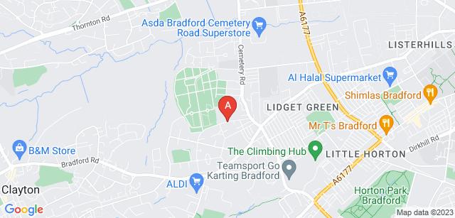 Google static map for Scholemoor Cemetery  and Crematorium
