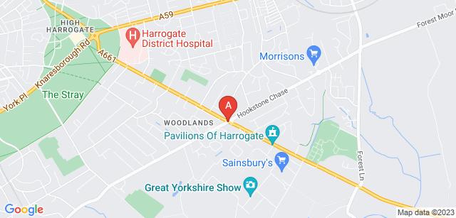 Google static map for Stonefall Crematorium