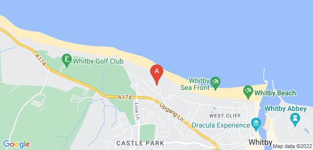 Google static map for St Catherine's Whitby Day Hospice