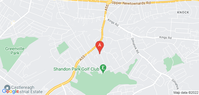 Google static map for Marie Curie Hospice, Belfast
