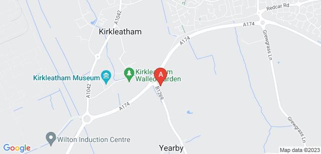 Google static map for Kirkleatham Memorial Park and Crematorium