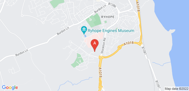 Google static map for St Benedict's Hospice