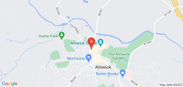 Google static map for HospiceCare North Northumberland