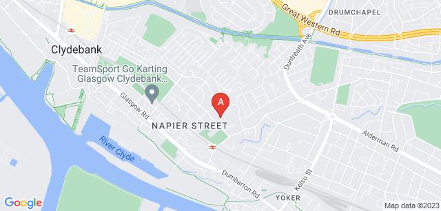 Google static map for St Margaret of Scotland Hospice
