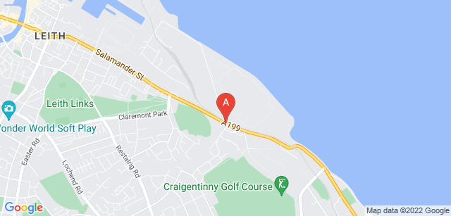 Google static map for Seafield Crematorium