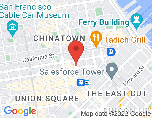 Map of Glaser Weil San Francisco