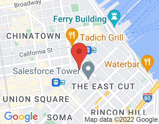 Map of Glaser Weil San Francisco
