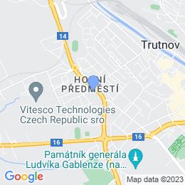 Mapa pobočka Trutnov