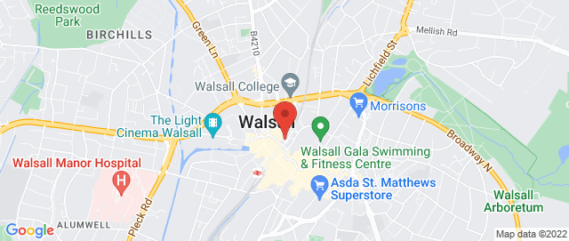 Walsall House Removal Service Walsall Man & Van Hire Walsall Self Storage Collection Delivery Van Cheap Movers  Map