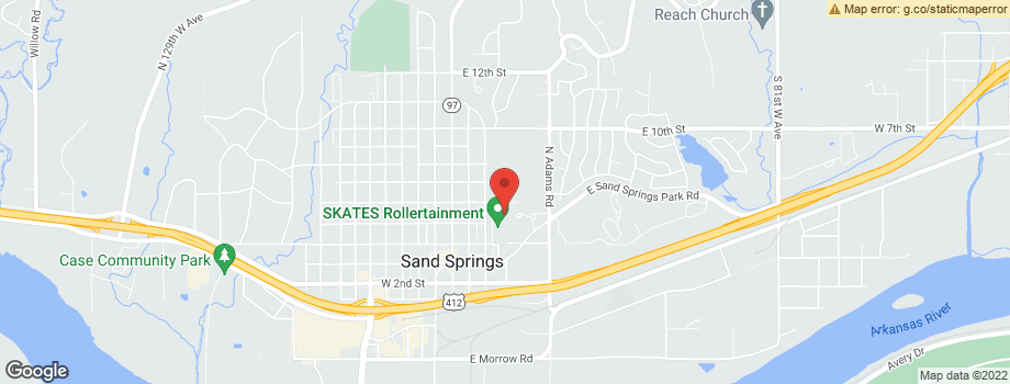 Kirkwood senior complex apartments and nearby sand springs for Apartment complex map maker