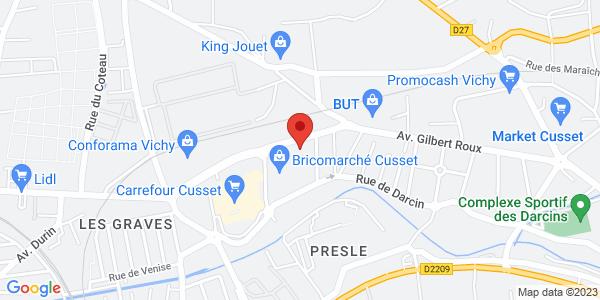 Trouver le marbrier ROC-ECLERC Pompes funèbres Faucheron (Sarl) Entreprise indépendante sur la carte