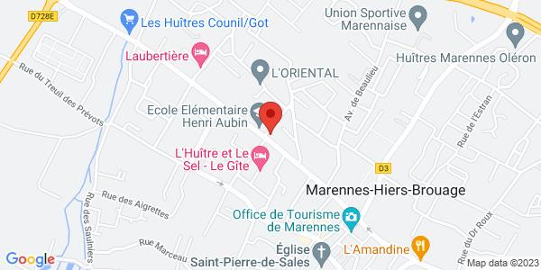 Trouver le marbrier Pompes Funèbres Godrie-Thénaud (SARL) sur la carte