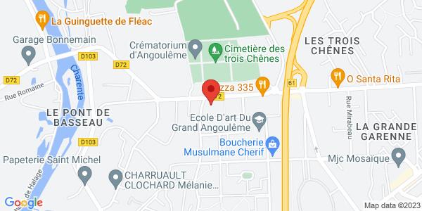 Trouver le marbrier Pompes Funèbres De L'Europe sur la carte