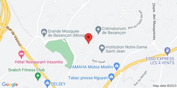 Trouver le marbrier Nouvelle Marbrerie de Saint Claude sur la carte