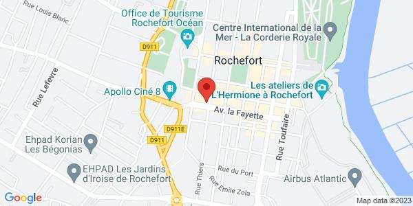 Trouver le marbrier Roc-Eclerc Pompes Funèbres Martin Entreprise indépendante sur la carte