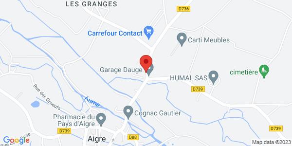 Trouver le marbrier Pompes Funèbres et Marbrerie Didier Dupuy sur la carte