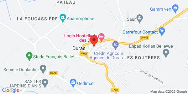 Trouver le marbrier Pompes Funèbres Fayolles - Dupouy sur la carte