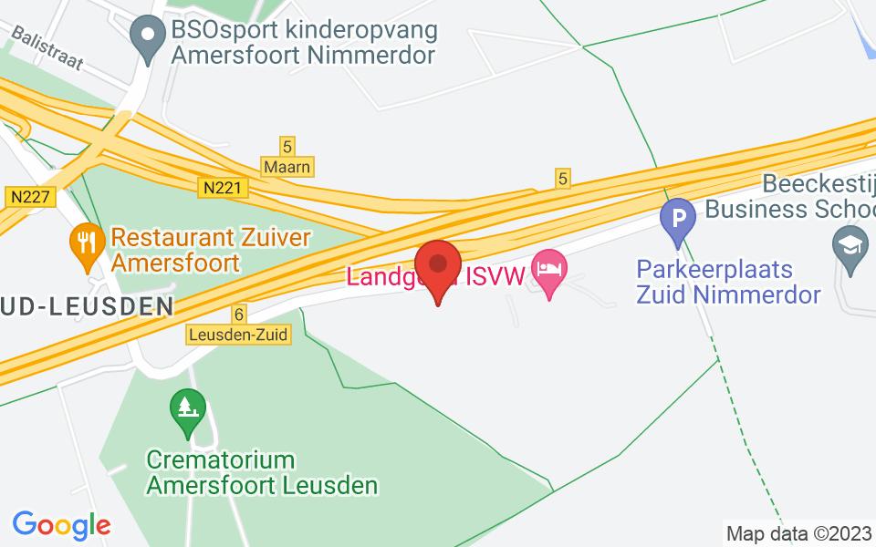 Kaart van Scouting Manitoba, Dodeweg, Leusden, Netherlands, 52.130707, 5.38150799999994